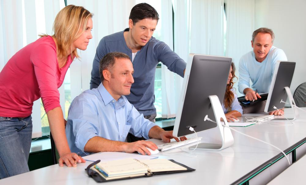 how to provide support and training to staff