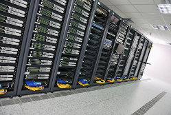 Web hosting data centre