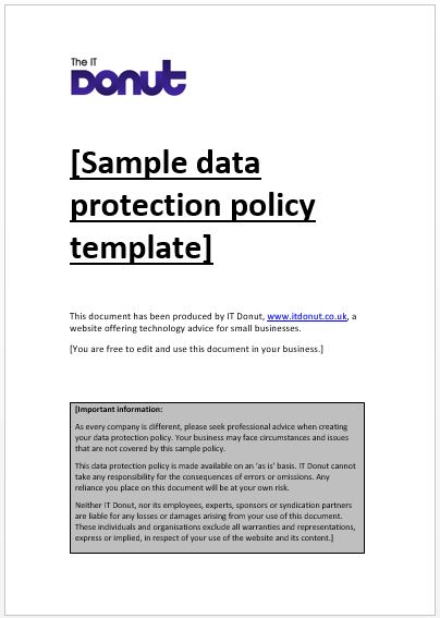 Data protection policy image