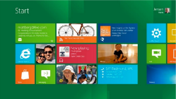 Windows 8 start screen{{}}