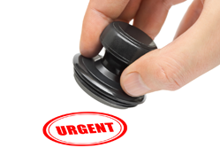 Urgent stamp – but not all email is urgent{{}}