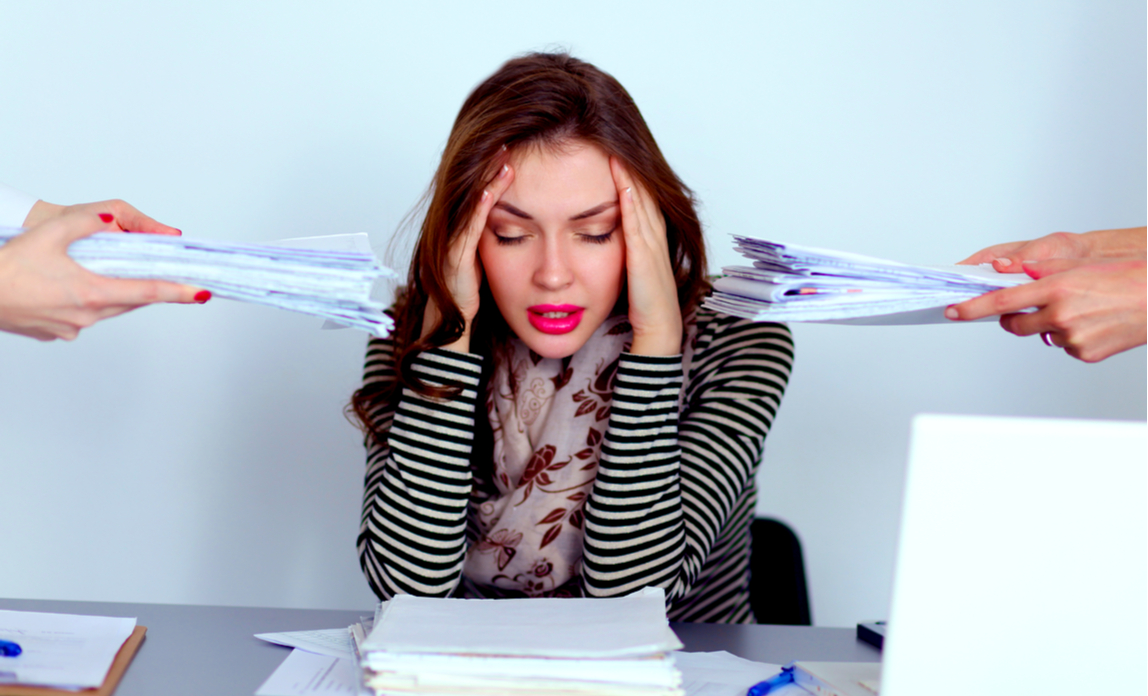 Brits losing sleep because of work stress