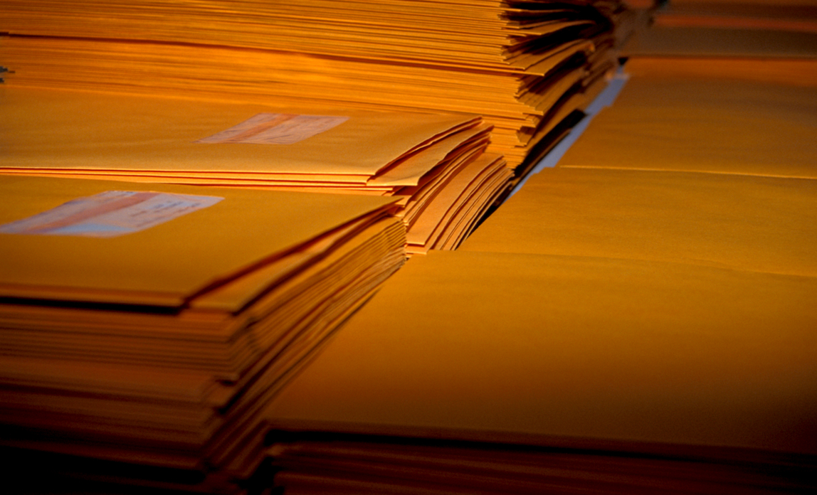 Pile of letters - choose a bulk email service provider.