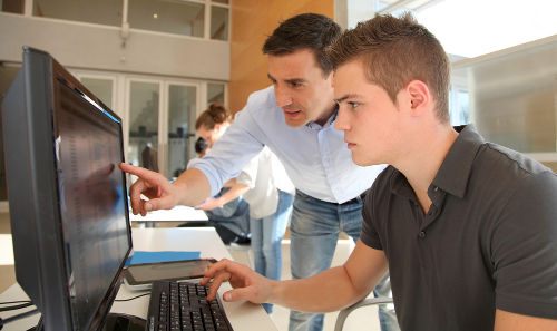 Computer and software training
