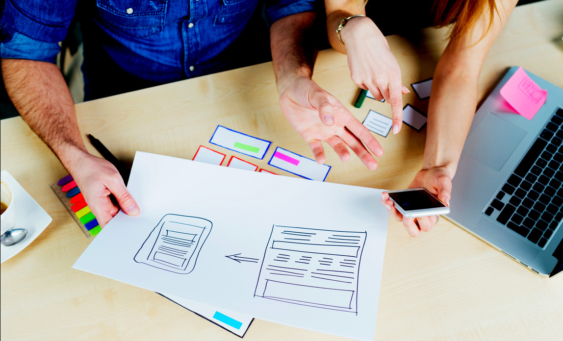 Five tips for working with a web designer