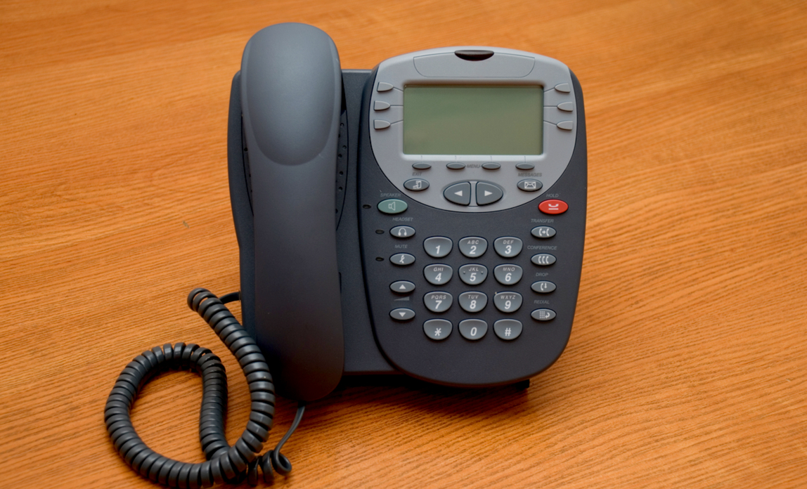 Telephone on a desk - Get the most from your business phone system.