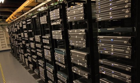 Inside a data centre