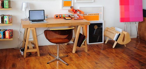 An interesting looking desk