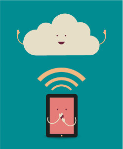 Cloud and mobile device{{}}