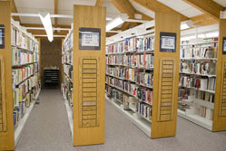 Library shelves – where's your data?{{}}