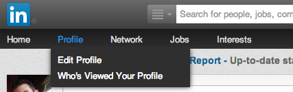LinkedIn privacy settings{{}}
