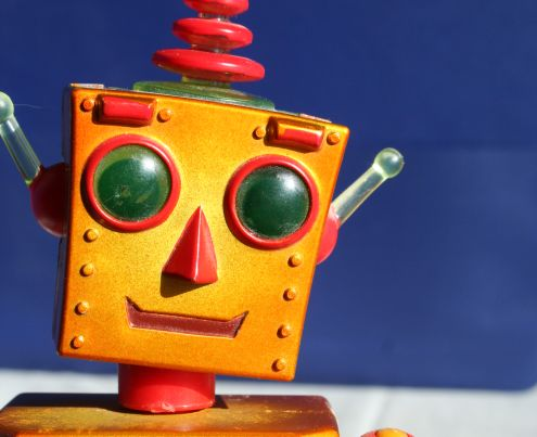 Robot: the Teledroid doesn't look like this