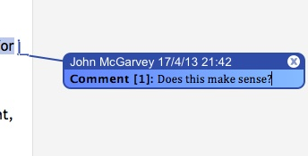 Remove comments like this from a Word doc{{}}