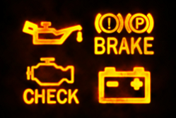 Car warning lights – get IT support help when you're in trouble
