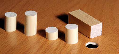 Putting a square peg into a round hole