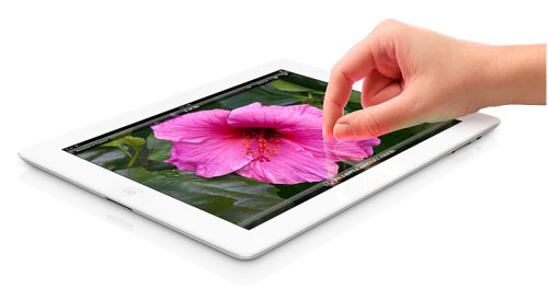 Apple's new iPad{{}}