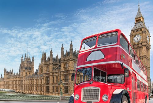 New domain name extensions: Palace of Westminster and London bus{{}}