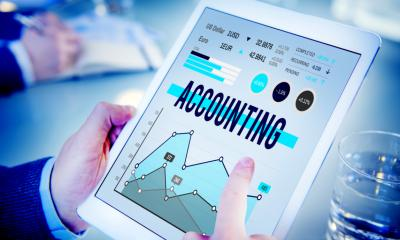 Accounting software on a tablet - Is online accounting software right for your business?