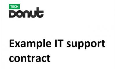 Sample IT support contract