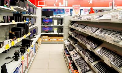 Computer equipment in a shop - key considerations when purchasing business IT.