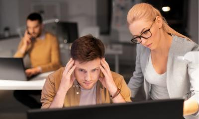 Technology causes stress for one in three employees