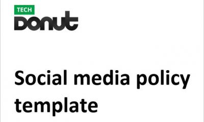 Sample social media policy template
