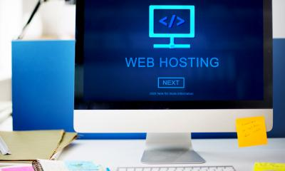 Monitor displaying web hosting - Q&A: The right web hosting for your business