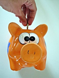 Piggy bank - cheap IT tips{{}}